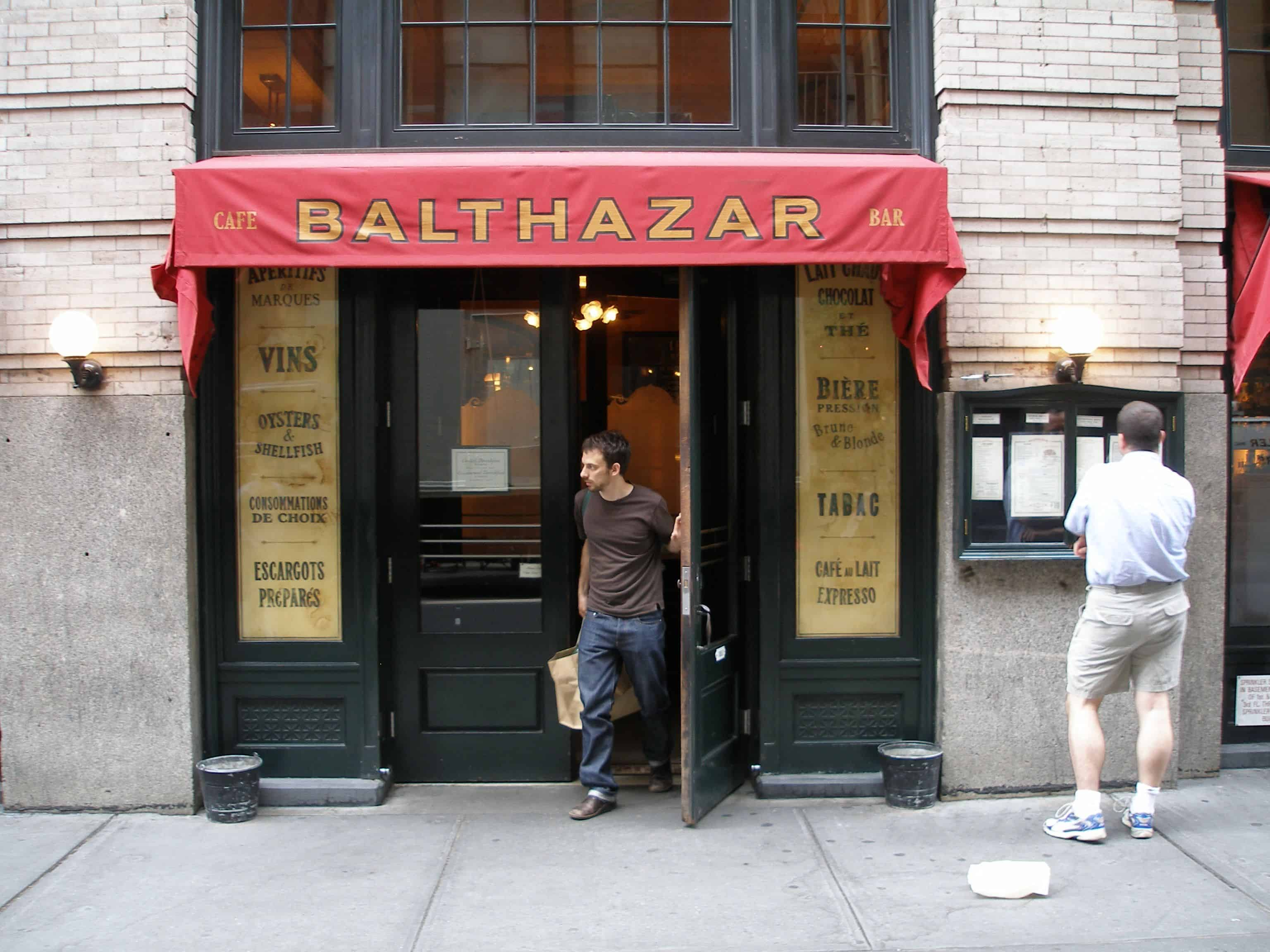 French kissed balthazar for Balthazar reservations