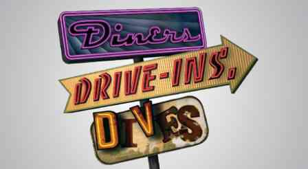 Diners, Drive-Ins, and Dives Map