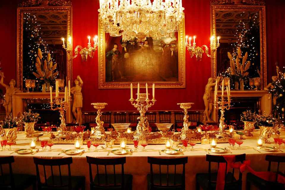 consomme Chatsworth_House,_Dining_room