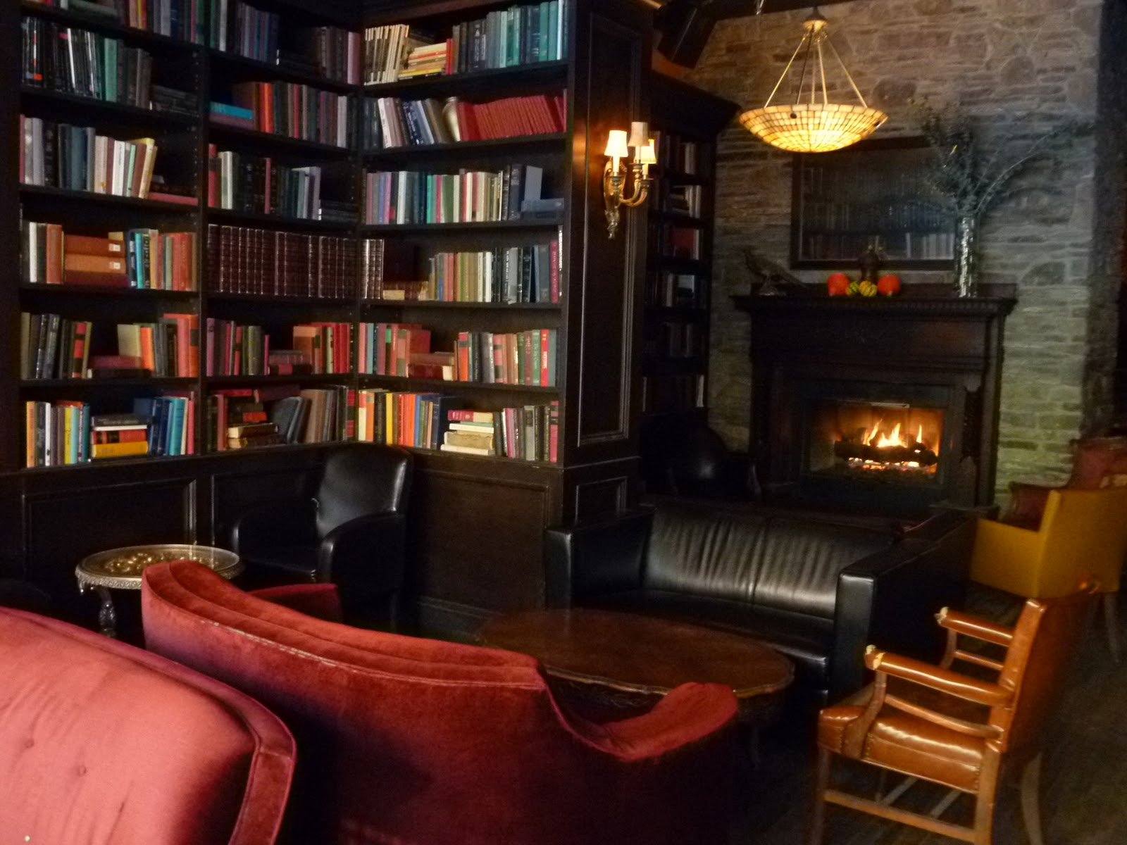 Living Room Bar Nyc Best Fireplace Bars In Nyc