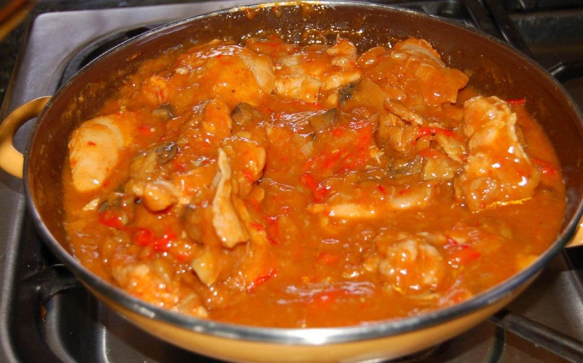 recipe: authentic chicken paprikash [4]
