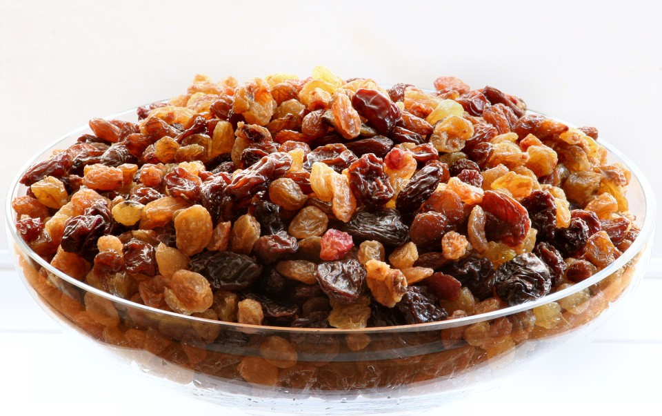 Hot Cross Bun Raisins