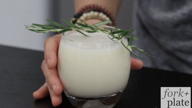 Yogurt Gin Cocktail