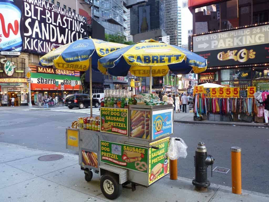 Hot Dog Cart Business